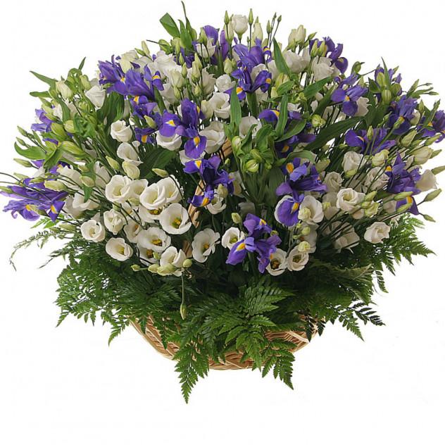 Корзина с цветами № 3